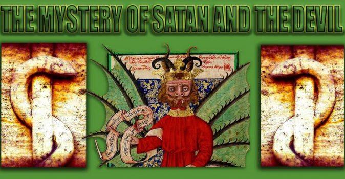 THE MYSTERY OF SATAN AND THE DEVIL SERIES ON DAVIDJAMESBOSTON.COM